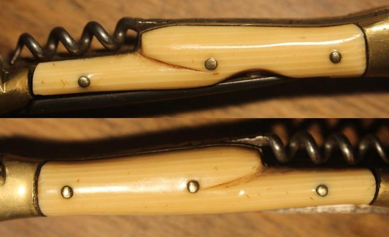 Matière à identifier (ivoirine) 00613