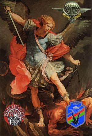 Parachutistes: fête de la Saint Michel organisé par l'Union nationale des parachutistes Illust10