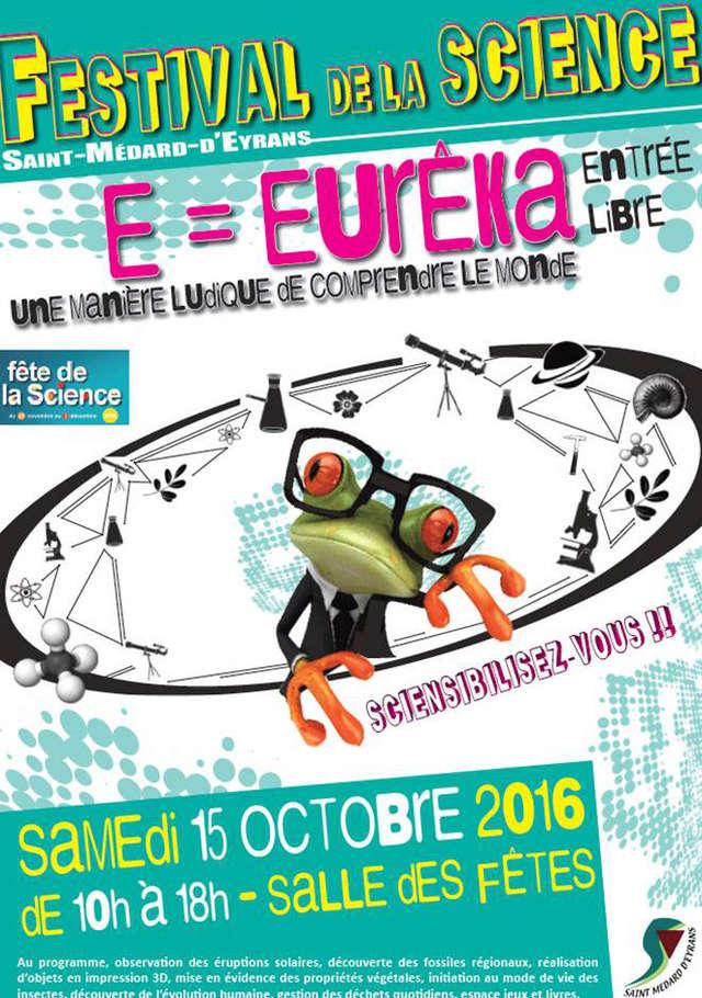 FESTIVAL DE LA SCIENCE samedi 15 octobre 2016 2016-142
