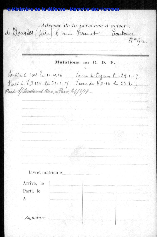 Hélice d'avion ww1 et son brevet de pilote. Archiv10