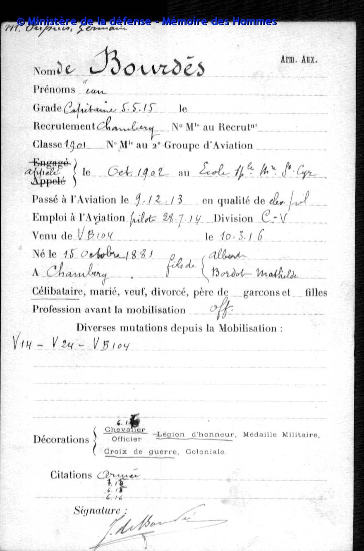 Hélice d'avion ww1 et son brevet de pilote. Archiv11