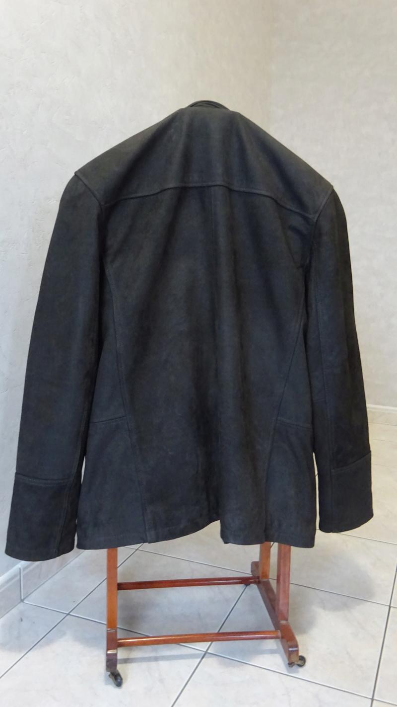 Manteau CUIR brun, neuf, HOMME XL Dsc06312