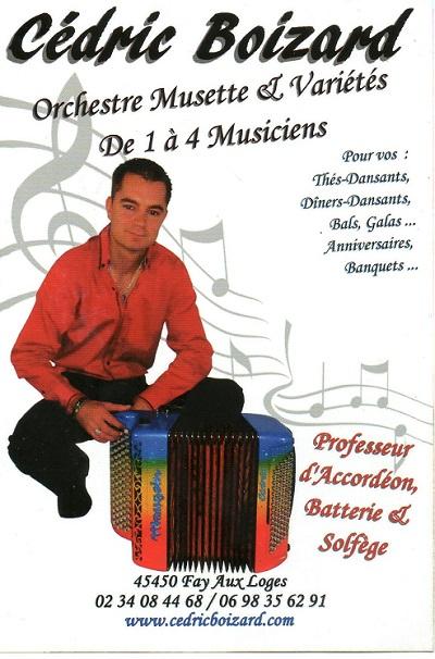 45 - FAY AUX LOGES- Orchestre Cédric BOIZARD Boizar10