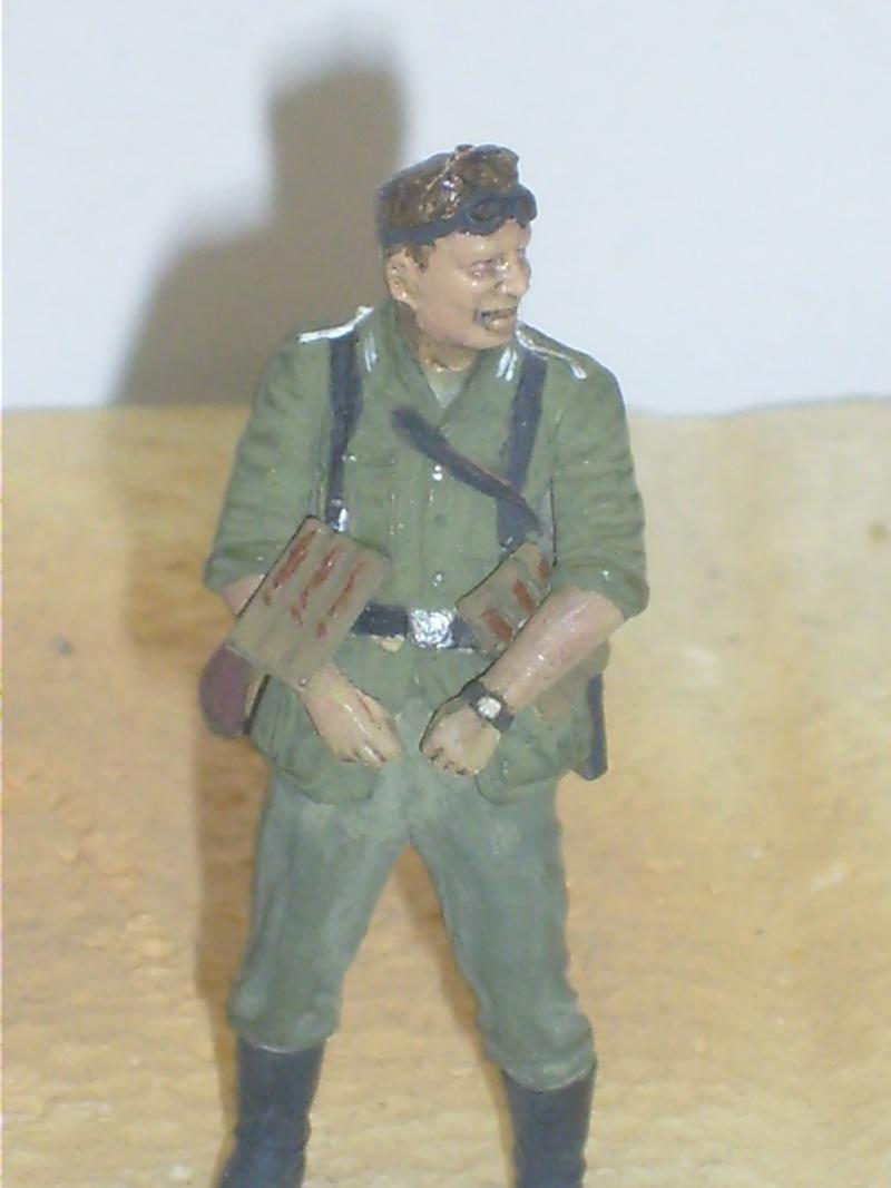 peinture - peinture figurines Motard11