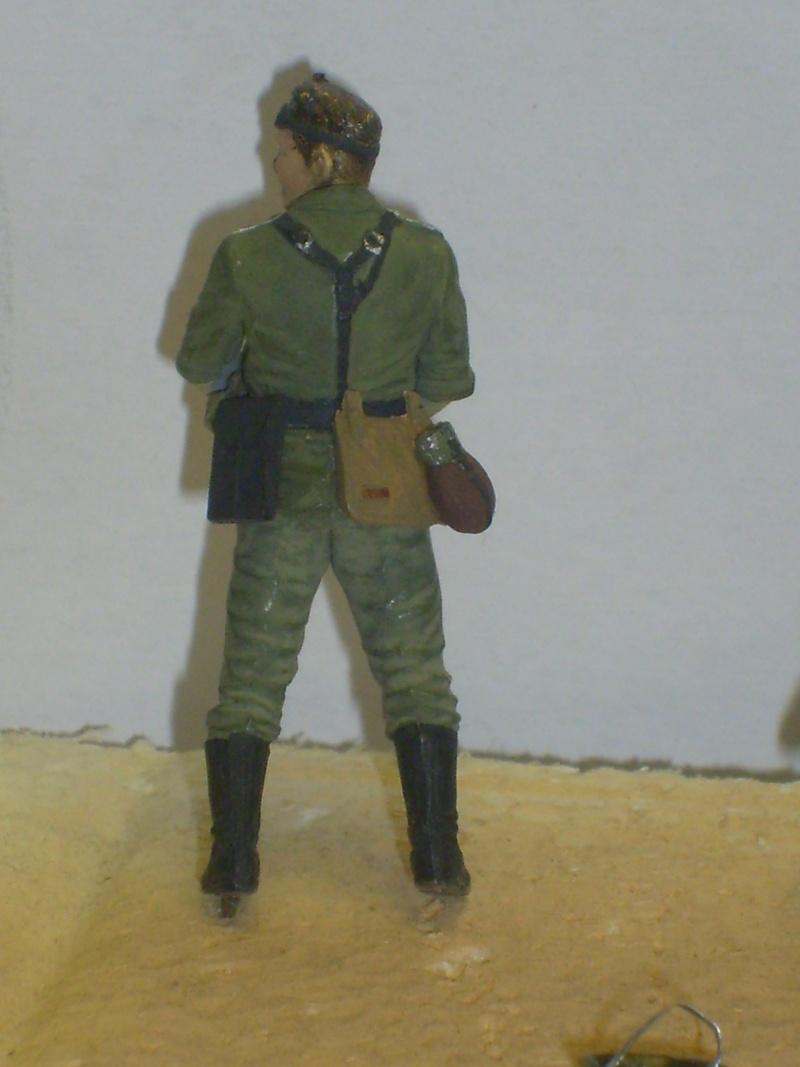 peinture - peinture figurines Motard12