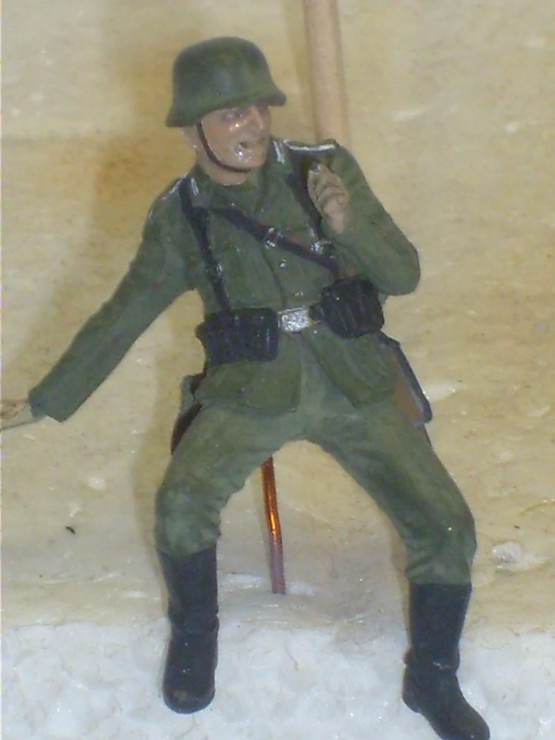 peinture - peinture figurines Motard13