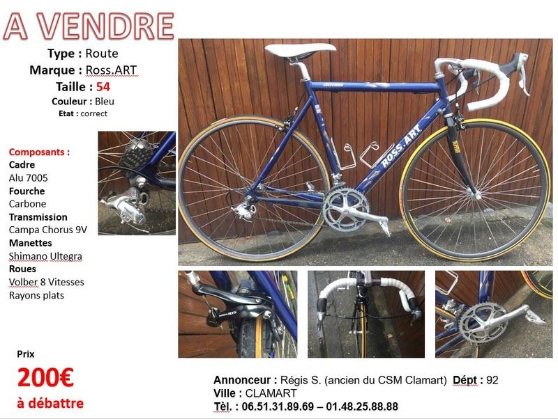A vendre Velo Route Taille 54 bleu 9V Affich13
