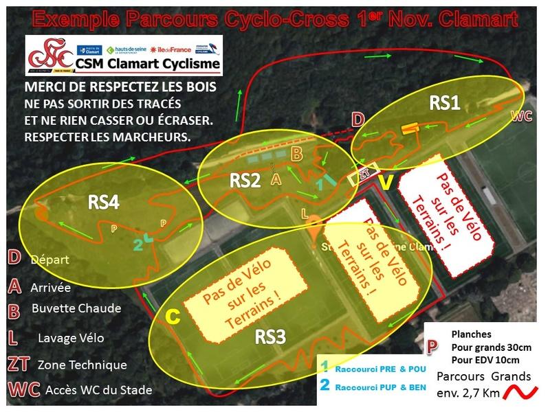 Organisation Cyclocross du 1er Novembre au Stade de la Plaine Parcou10