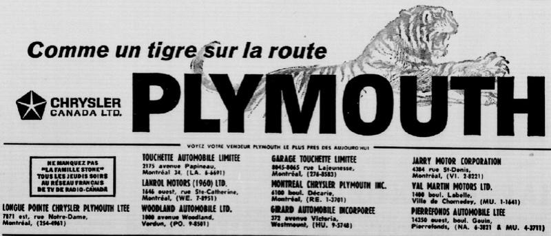 Les anciens dealers Mopar du Québec - Page 7 Plymou10