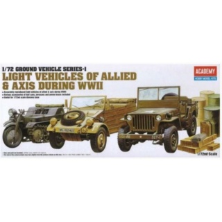 [ACADEMY] Light Vehicles Of Allied & Axis During WWII Maquet10