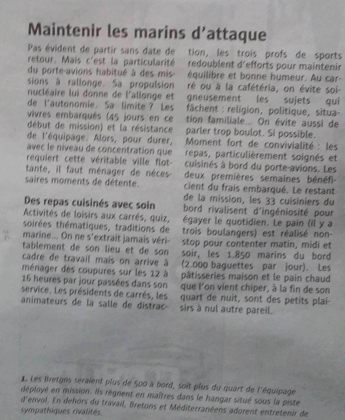 [ Porte-Avions Nucléaire ] Charles De Gaulle Tome 3 - Page 5 Mainte10