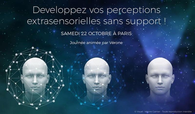 Formation Développé vos perceptions extrasensorielles sans support par Vérone Verone10