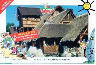 Dépliants, plans, tickets du Parc Astérix 2000_p10