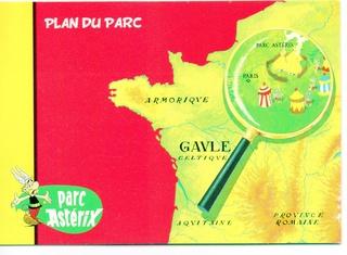 Dépliants, plans, tickets du Parc Astérix 2005_p10