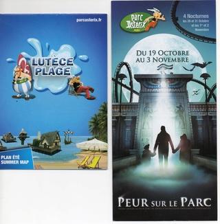 Dépliants, plans, tickets du Parc Astérix 2013_p10