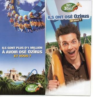 Dépliants, plans, tickets du Parc Astérix 2013_p11