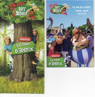 Dépliants, plans, tickets du Parc Astérix 2014_p10