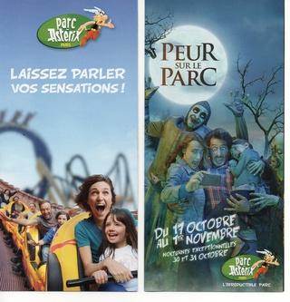 Dépliants, plans, tickets du Parc Astérix 2015_p11