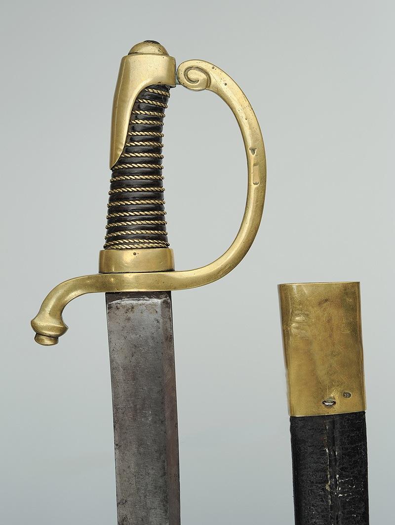 Sabre briquet de Chasseur à pied de la Garde Consulaire (puis Impériale) Image_12