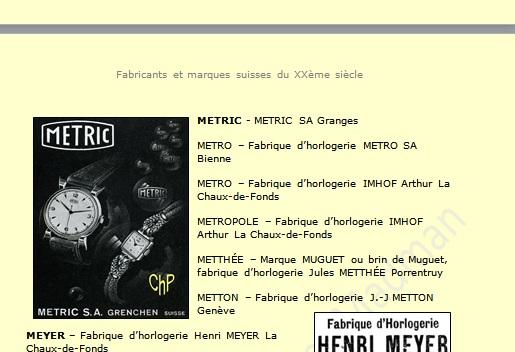 Jaeger -  [Postez ICI les demandes d'IDENTIFICATION et RENSEIGNEMENTS de vos montres] - Page 22 Metric10