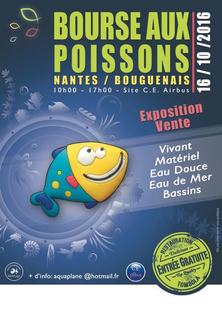 Bourse aquariophile de Nantes (44) + liste des poissons Affich10