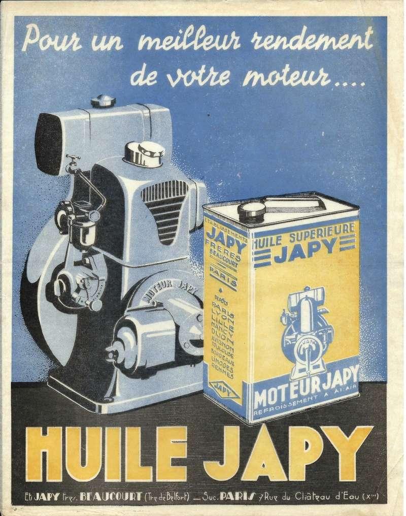 Japy - Produits associés - Page 2 Huile10