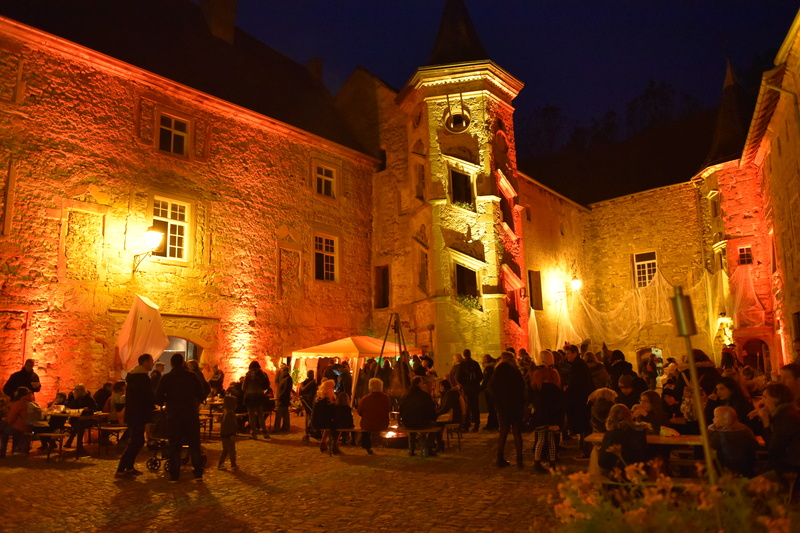 Rommelbootsen au château Saint_Sixte de Freistroff Dsc_9848