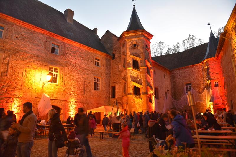 Rommelbootsen au château Saint_Sixte de Freistroff Dsc_9917