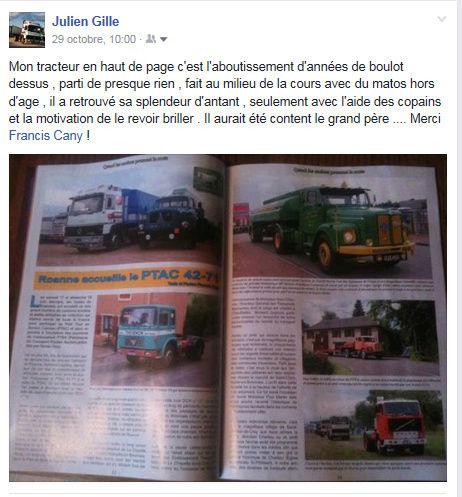 Le numéro 30 Des Camions et des Hommes en kiosque samedi ! Facebo11