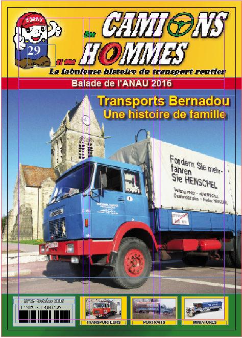 Magazine Des Camions et des Hommes n°29 disponible Sans_t10