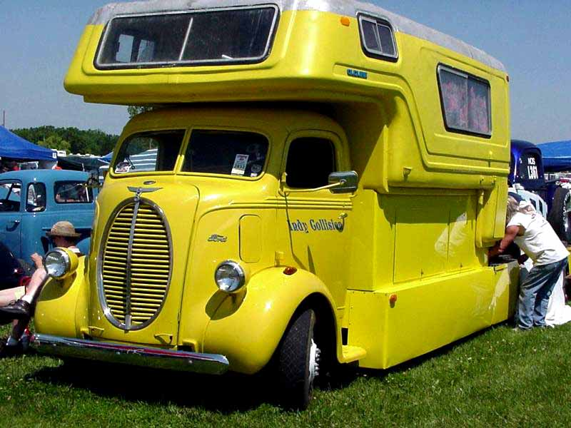 FORD 1941 COE camper hauler  Base_i10