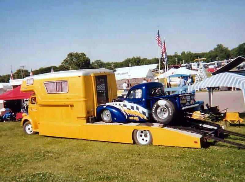 FORD 1941 COE camper hauler  Base_i11
