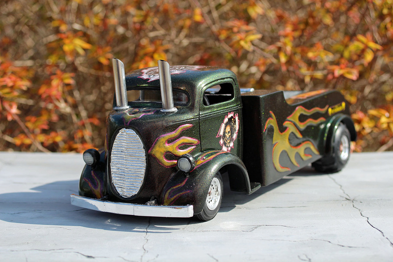 """FORD 1938 COE """" pulling"""" Img_7311"""