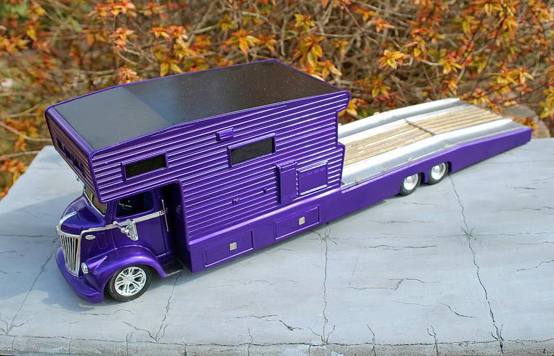 FORD 1941 COE camper hauler  Img_7412