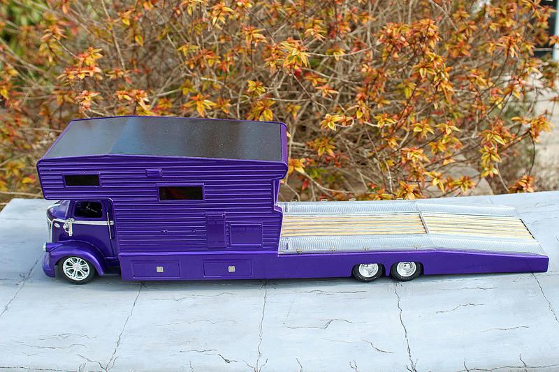 FORD 1941 COE camper hauler  Img_7415