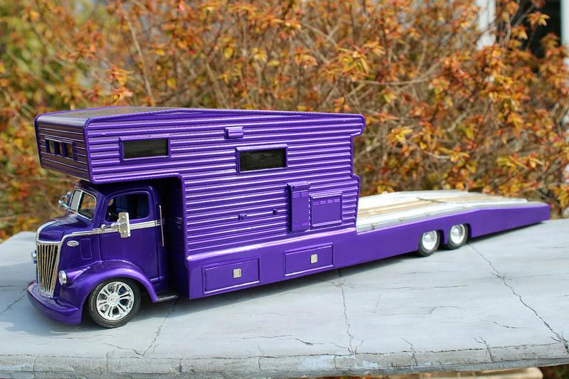 FORD 1941 COE camper hauler  Img_7418