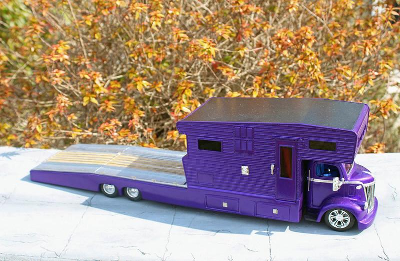 FORD 1941 COE camper hauler  Img_7421