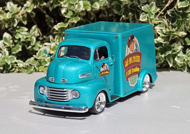 FORD 1950 COE box van Img_9410