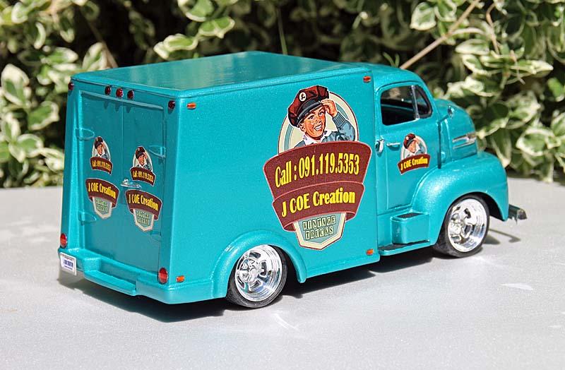 FORD 1950 COE box van Img_9414