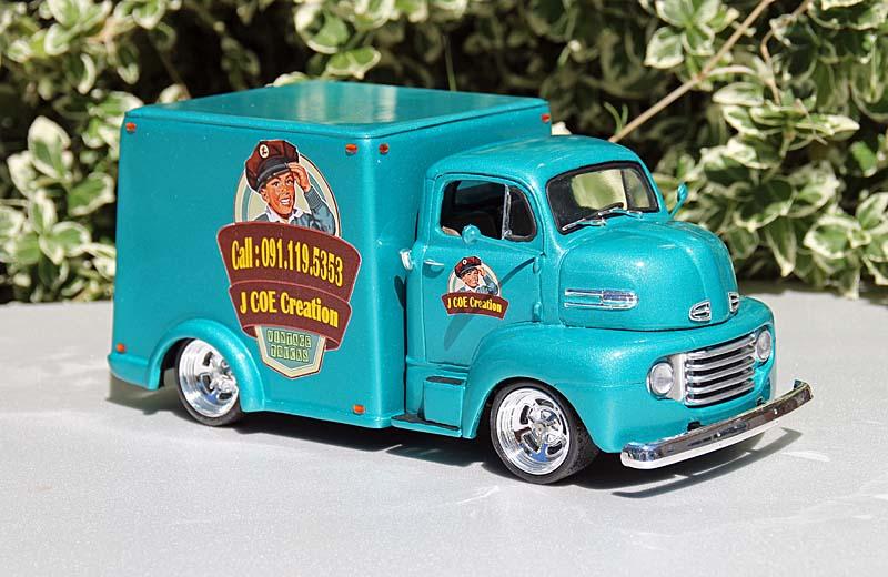FORD 1950 COE box van Img_9417
