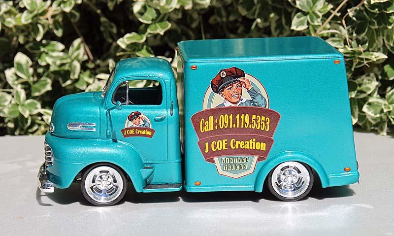 FORD 1950 COE box van Img_9418