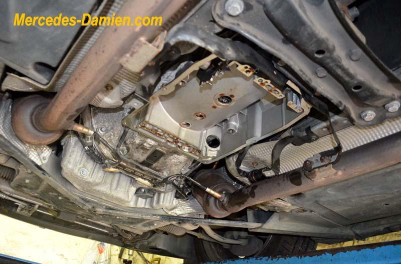 probleme boite de vitesse auto sur W639 2006 et demarreur