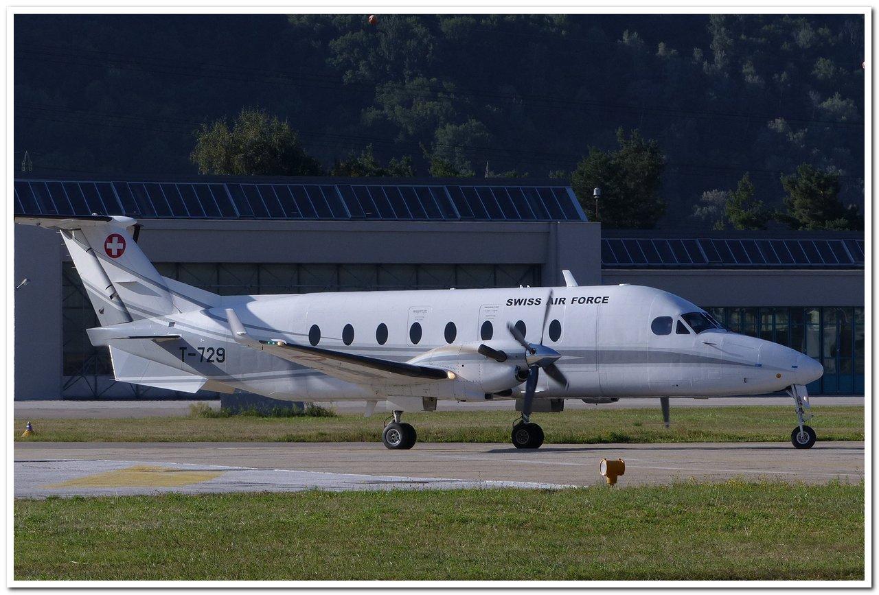 Aéroport - base aérienne de Sion (Suisse) P1140210