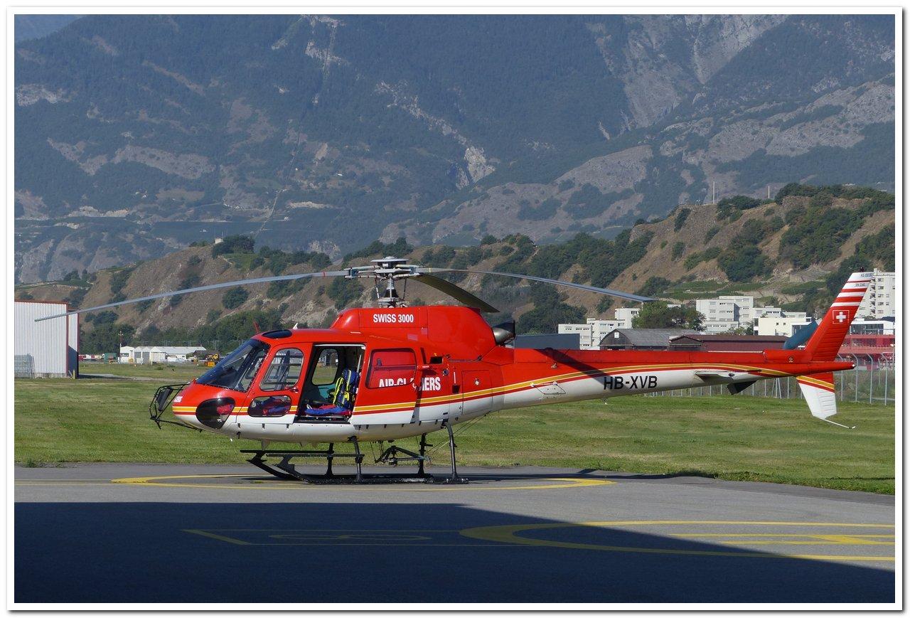 Aéroport - base aérienne de Sion (Suisse) P1140212