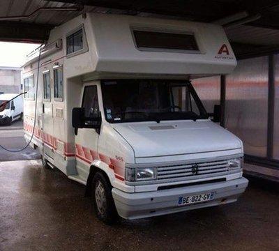 Camping car volé  AUTOSTAR BE-822-GV / PEUGEOT J5 immat BE 822 GV 14642110