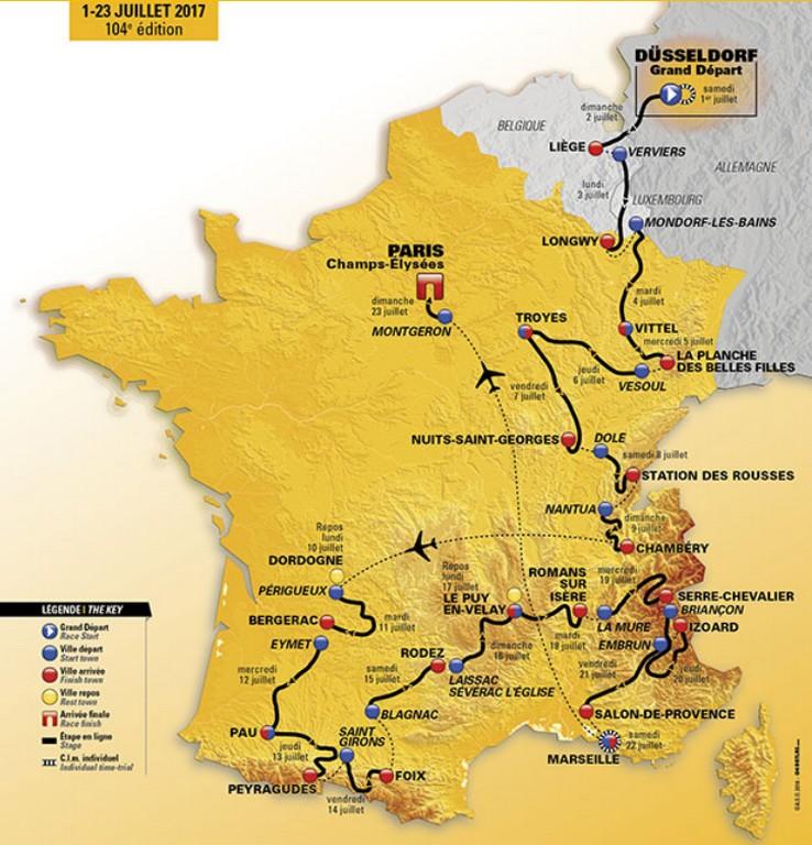 2017 Tour de France Carte10