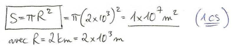 Calculs de surfaces, volumes et périmètres 5210