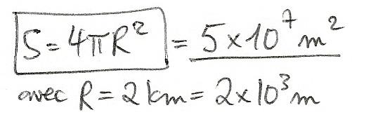 Calculs de surfaces, volumes et périmètres 5410