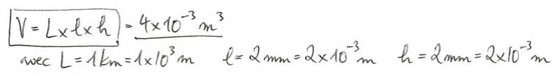 Calculs de surfaces, volumes et périmètres 5910