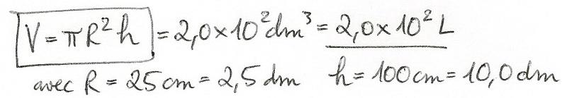 Calculs de surfaces, volumes et périmètres 6210